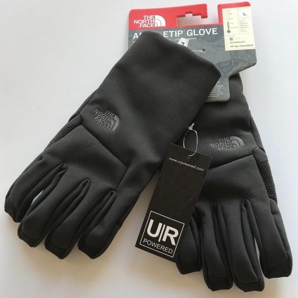 c5ea1132b North Face APEX ETIP Gloves UR Powered TNF Sz. L NWT